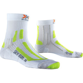 X-Socks Sky Run V2.0 Socks Herre white/green lime
